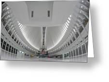 Oculus World Trade Center Wtc Transportation Hub Greeting Card