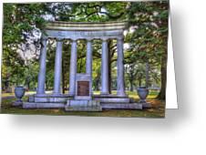 Odd Fellows Memorial Greeting Card