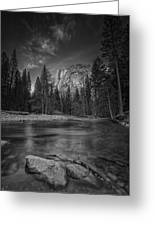 Ode To Ansel Adams Greeting Card