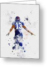 Odell Beckham Jr Greeting Card