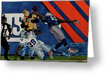 Odell Beckman Jr.  Greeting Card