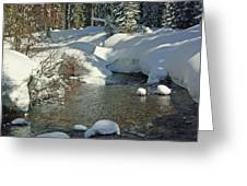 Odell Creek Greeting Card
