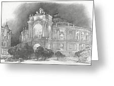 Odessa Theater  Greeting Card