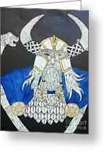 Odin Watching Greeting Card