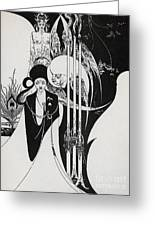 Of A Neophyte And How The Black Art Was Revealed Unto Him Greeting Card