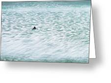 Off To Catch A Wave Greeting Card