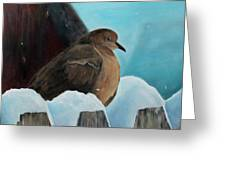 Of Winters Past Greeting Card