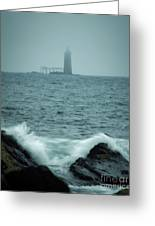 Off Cape Elizabeth Maine Greeting Card
