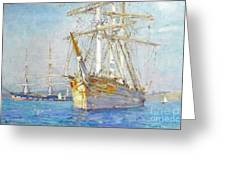 Off Falmouth Greeting Card