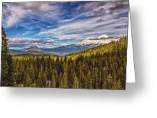 Off In The Distance Greeting Card