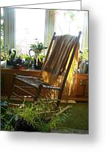 Off My Rocker - Photograph Greeting Card