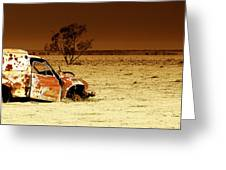 Off Road Greeting Card