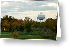 Off The Green-golf Course Greeting Card