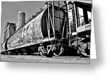 Off The Rails Greeting Card