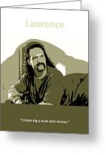 Office Space Lawrence Diedrich Bader Movie Quote Poster Series 006 Greeting Card
