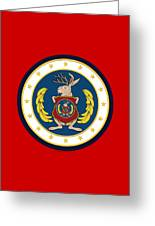 Official Odd Squad Seal Greeting Card
