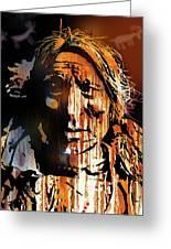 Oglala Warrior Greeting Card