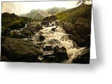 Ogwen Falls Greeting Card