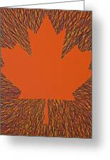 Oh Canada 5 Greeting Card