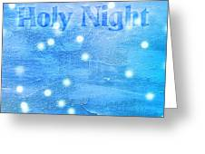 Oh Holy Night Greeting Card by Jocelyn Friis