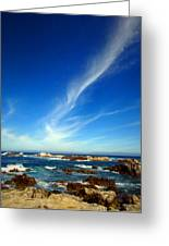 Oh The Beauty  Monterey Peninsula Ca  Greeting Card