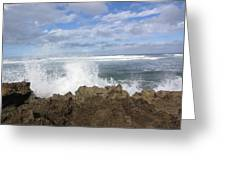 Ohau Splash Greeting Card