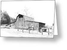 Ohio Barn Greeting Card