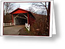 Ohio Covered Bridge Greeting Card