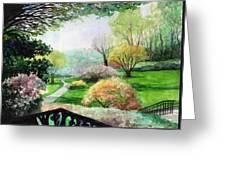 Ohio Garden Greeting Card