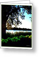 Ohio Pond Greeting Card