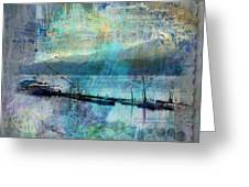 Ohio River Splatter Greeting Card
