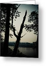 Ohio River View Greeting Card