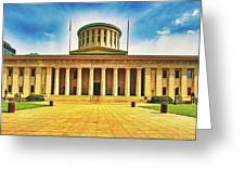Ohio Statehouse Greeting Card