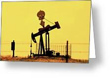Oil Baron Tweety Greeting Card