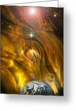 Oil From Heaven Greeting Card