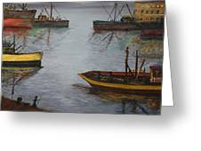 Oil Msc 024  Greeting Card