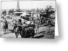 Oil: Texas, 1920 Greeting Card
