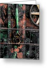 Oil Well Greeting Card