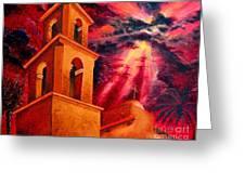 Ojai Red II Greeting Card
