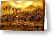 Ojai Sepia IIi Greeting Card