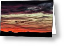 Ojo Caliente Sunset Greeting Card