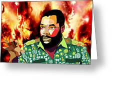 Ojukwu Greeting Card