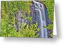 Ok Slip Falls Two Greeting Card