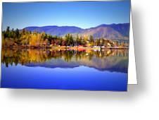 Okanagan Mountains Greeting Card