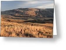 Okanagan Valley Sunset Glow Greeting Card