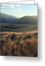 Okanagan Valley Warm Glow Greeting Card