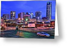 Okc Early Evening Greeting Card