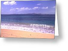 Okinawa Beach 16 Greeting Card