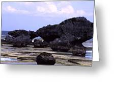 Okinawa Beach 2 Greeting Card