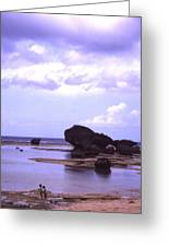Okinawa Beach 20 Greeting Card